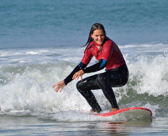 Surfkurs Wellenreiten Conil Andalusien