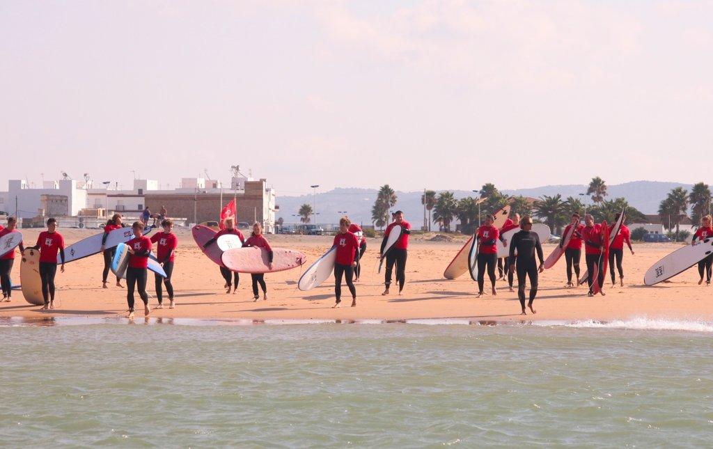 Surf kurs - Wellenreiten Conil El Palmar