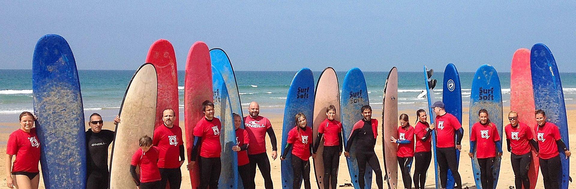Surfkurs - Gruppenfoto
