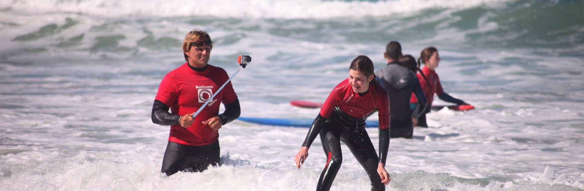 Surfkurs Wellenreiten in Conil El Palmar