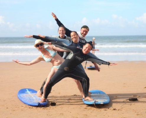Pfingsten Surfcamp Andalusien Conil El Palmar