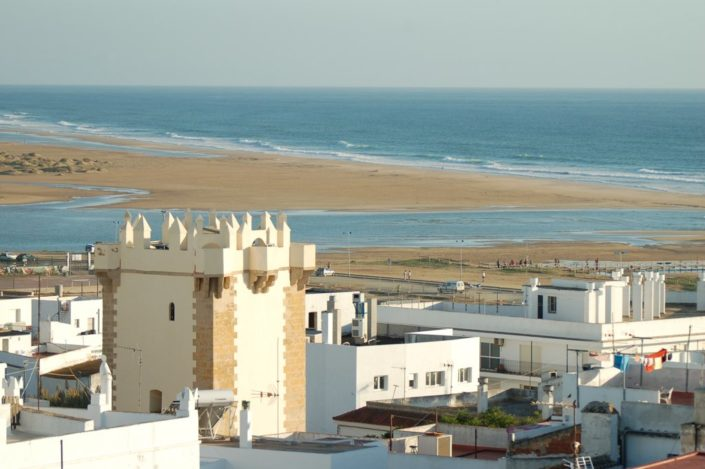 Conil mit Strand - Surfcamp Spain Andalusien