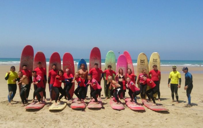 Surfcamp Wellenreiten Surfkurs