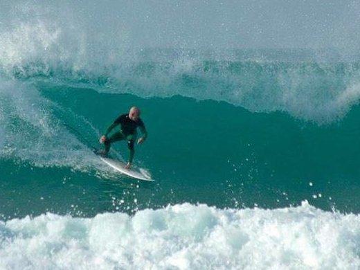 Ralf auf der Welle