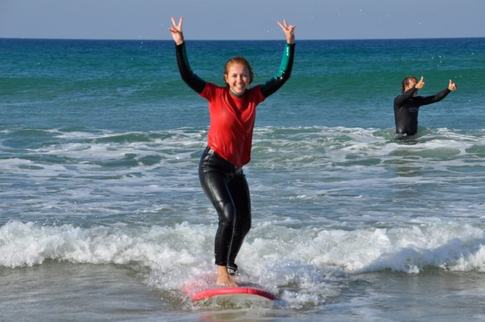 Surfen im Surfcamp in Spanien, Andalusien