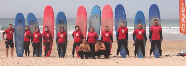 surfkurs in Conil mit surfcamp spain