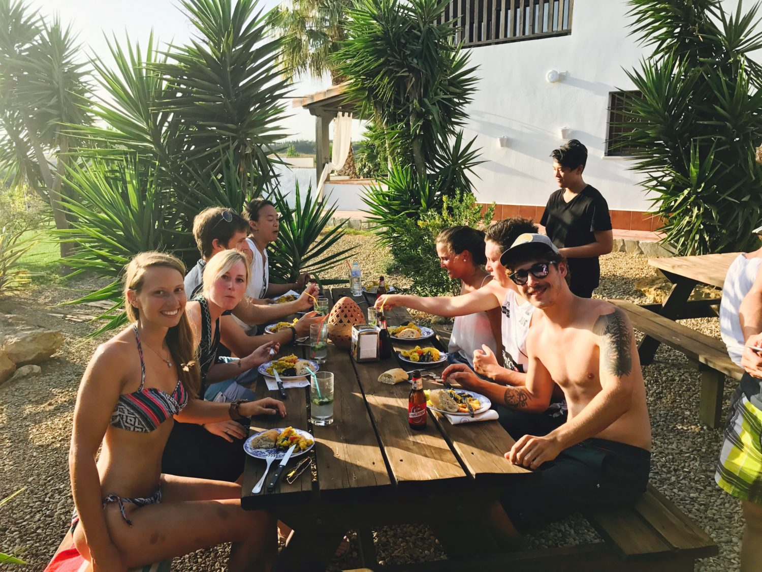Surfcamp Spain Surf Finca BBQ