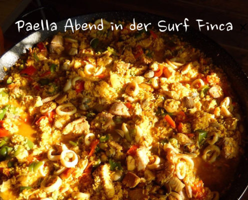 Surfcamp Spain Andalusien Finca Paella