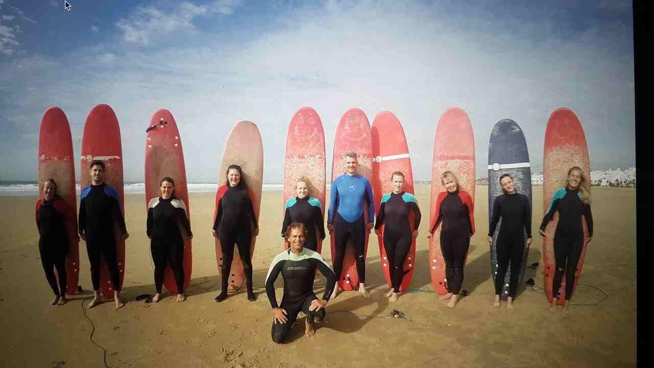 Frühjahr Ostern Surfcamp Spanien Andalusien Conil el Palmar