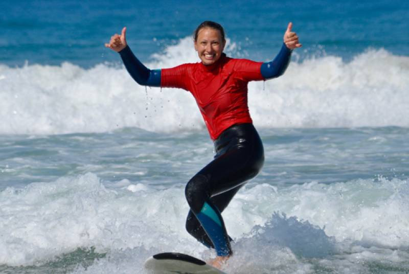 Surfen, Spanien, Wellenreiten, Andalusien, Cadiz, Conil El Palmar