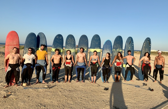 Surfkurs in Conil Andalusien