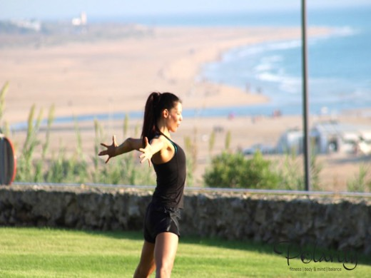 Yoga Andalusien