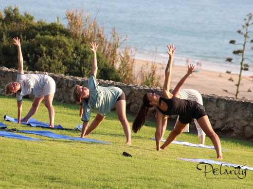 Polarity Fitness, yoga Camp Costa del la Luz Conil El Palmar Andalusia