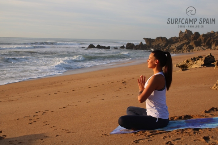 Surfcamp, Fitness, Conil, Andalusien Yoga