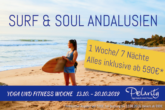 Surf and Yoga Retreat Andalusien
