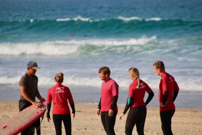 Surfen in Spanien Conil Andalusien