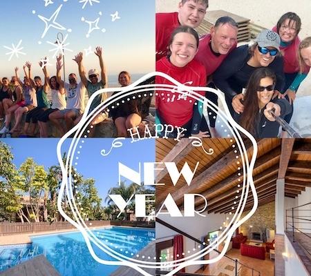 Silvester Neujahr Surf und Yoga Andalusien
