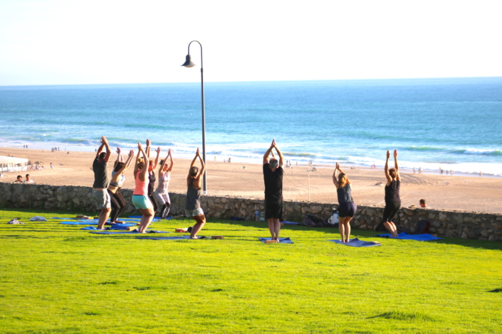 Yoga Spanien Andalusien Surfcamp