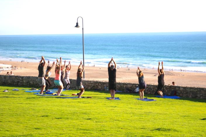 Yoga Spanien Andalusien Surfcamp