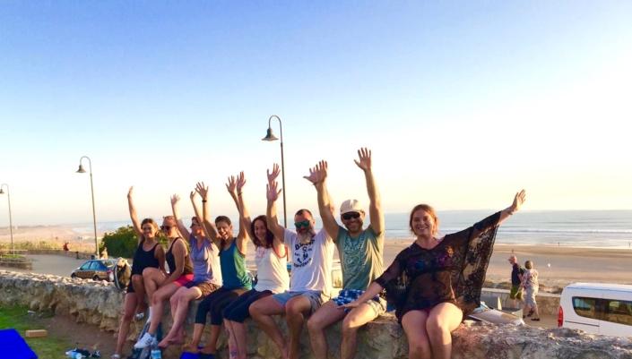 Yoga camp Spanien Andalusien Surfcamp