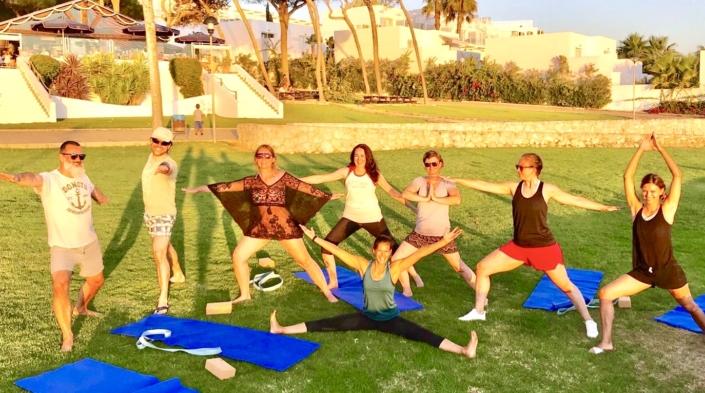 Yoga Surfen Spanien Conil El Palmar